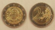 Alemania 2 euro 2012, 10 años euro f * 1352 *