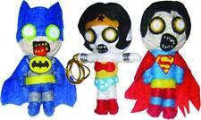 DC COMICS ZOMBIE STRING DOLL KEYCHAIN SET BATMAN SUPERMAN WONDER WOMAN