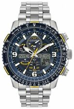 new Citizen Eco-Drive Promaster Blue Angels Skyhawk A-T Radio Controlled  Watch