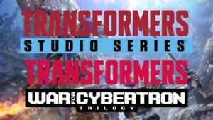 Transformers Generations BOXES (Assortment of Studio Series & War For Cybertron)