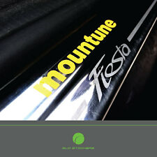 X2 Mountune Door Sill Sticker Decal Ford Fiesta Focus ST Line RS Zetec S Window