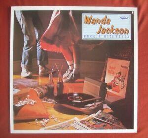 "Wanda Jackson (rockabilly) Lp - Rockin' With Wanda,excellent ""Capitol"" pressing"