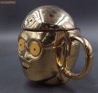 Star Wars Mug New Gold Ceramic Mugs 3D Milk Coffee Mug Drink Cup Christmas Gift