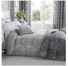 BELLISSIMO Toile Duvet Set Polyester-cotton Grey Double