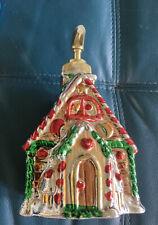 House Christmas Soap Dispenser