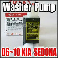 KIA  Sedona 2006~2010 Genuine Windshield Washer Pump OEM  98510-1F100