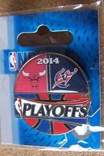 2014 NBA Playoffs pin Chicago Bulls vs Washington Wizards