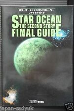 "JAPAN Star Ocean: The Second Story ""Final Guide"""