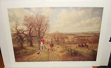 """ANTHONY RICHARD TIFFIN """"RIDING OUT ON THE SUSSEX WEALD"""" LTD SIGNED LITHOGRAPH"""