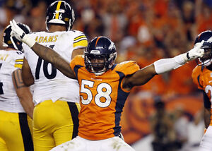 {24 inches X 36 inches} Von Miller Poster #3 - Free Shipping!