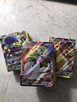100 Pokemon Official Card Bulk Lot PTCG Rares Ultra Rare & V EX GX Guaranteed!