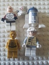 Lego Star Wars Minifigures Lot of Four