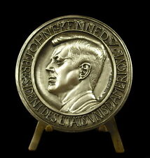 Médaille ex num 45/500 JFK USA Président John Fitzgerald Kennedy French Medal