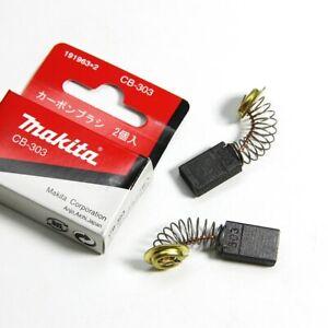 1pair Makita CB303 Carbon Brush 9403 DA4030 A5021 GA6021 GV7000C JR3030 JR3030T