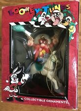 """Warner Brothers Looney Tunes Collectible Christmas Ornament Yosemite Sam 4"""""""