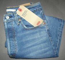 NEW Levi's Ribcage Straight Ankle Jeans 6 ( W28-L27) Charleston Rain