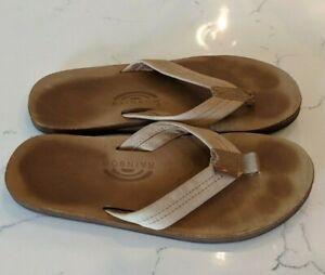 Rainbow Sandals The Original Sandal Men's Size Large (9.5 - 10.5) Tan