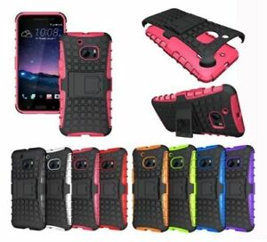 Shockproof Rugged Bumper Hybrid Armor Case For HTC 10, one M9, M8, 620