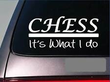 Chess sticker decal *E360* board queen king pawn pieces bishop knight rook set
