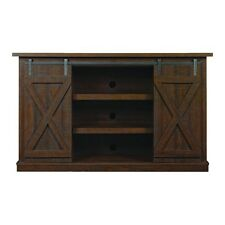 "Bell'O TC54-6127-PD01 Cottonwood Tv Stand For Tvs Up To 60 ""es, Sawcut Espresso"