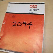 Case Ih International 2094 Tractor Parts Manual Book Spare Catalog Farm 1983