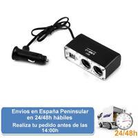 Cargador switch 12 v 2 usb cargador cargador para mechero coche (Envio express)