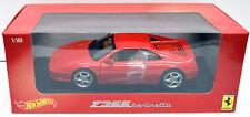 Hot Wheels Ferrari F355 Berlinetta, Red, 1:18 Scale Diecast Model (BLY57)