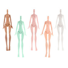 Polyarticular Turnable  Dolls Nude Body For  5Pieces