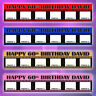 2 x Personalised Photo Banners Birthday Large 18th, 21st, 40th any age