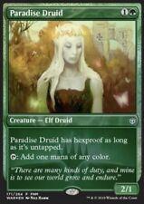 MRM FRENCH FOIL Promo Druidesse de paradis - Paradise Druid MTG magic WAR