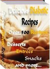 Delicious Diabetic Recipes Ebook On CD $5.95 Plus Resale Rights Free Shipping
