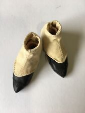 1/6 Scale Sideshow Star Wars Jedi Shoes With Peg Insert And Cloth Layer