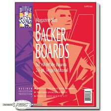 "50 - Comic Defense Magazine Size 24pt Backer Boards + Wrap Fabric - 8-1/2"" x 11"""