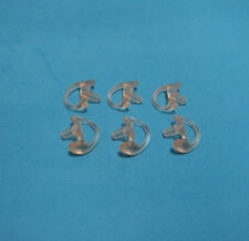 6X A Lot Small Left Replacement Earbud For Acoustic Air Tube Earpiece