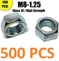25-pack of 304 Stainless Steel M8 x 1.25 mm Double Ended Studs