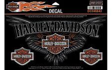 Harley Davidson Aufkleberset Modell Pinstriping Chrome