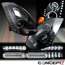 CCFL Projector Headlights + Front LED DRL for INFINITI G35 2 Door COUPE HID only