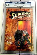Superman: At Earth's End #nn CGC 9.8 NM/MT, Batman apperance -1995  First Print