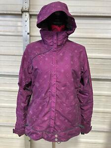 686 Snowboard Jacket - Womens Small - Smarty - Purple - Ski Winter