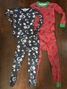 Hanna Andersson 2 sets of boys pajamas - size 6-7/120