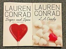 Lot of 2 Books by Lauren Conrad L. A. Candy & Sugar and Spice