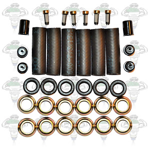 Alfa Romeo V6 Hose To Rail Fuel Injector Seal Kit For Bosch 0280150105 - Kit 24