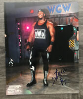 Stevie Ray WCW Autographed Signed 8x10 Photo