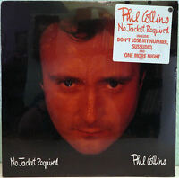 PHIL COLLINS. No Jacket required. 1. US-Press. 81240 1 . MINT/ SEALED