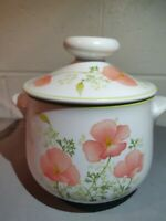 NORITAKE/PROGRESSION CHINA-BRIGHT SIDE 2 Qt ROUND COVERED CASSEROLE DISH
