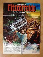 Filmposter * Kinoplakat * A1 * Fitzcarraldo * Klaus Kinski +C.Cardinale* EA 1982