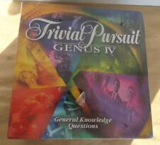 Trivial Pursuit Board Game IV Genus Edition 4 Parker Brothers brand new (damage)