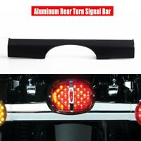 Motorcycle Aluminum Rear Turn Signal Black Bar For Harley 86-Later FLST FLSTC