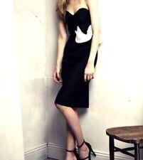 H&m conscious Exclusive bustierkleid negro cóctel vestido señora talla eu 38 vestido
