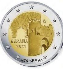 2 Euros Conmemorativos ESPAÑA 2021 *Ciudad Histórica de Toledo*spain-PREVENTA-